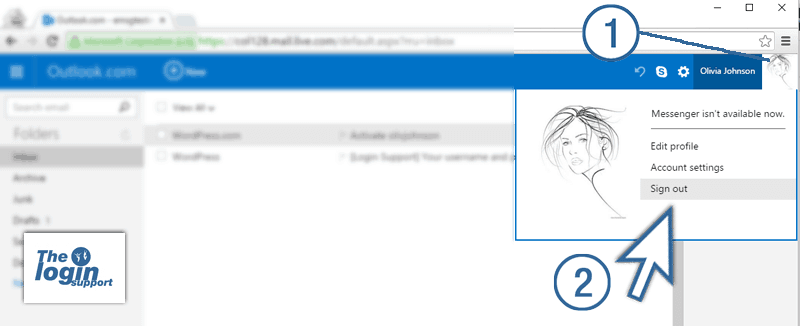 hotmail sign in page login