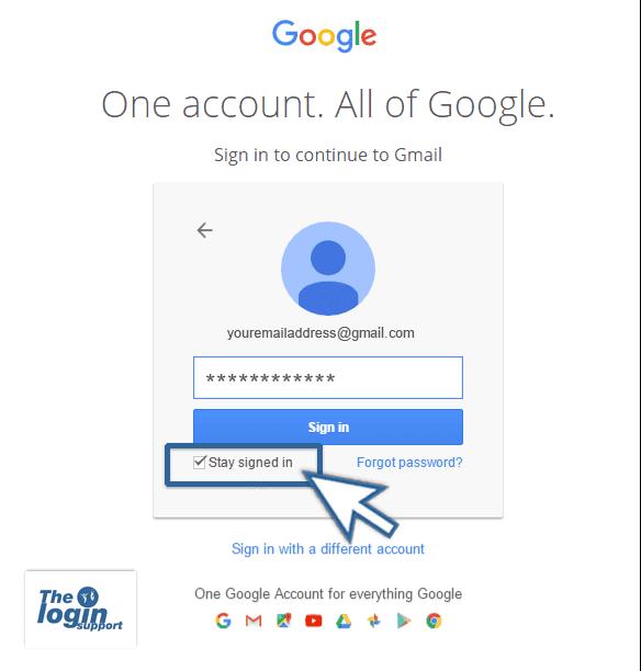 Log Into Gmail