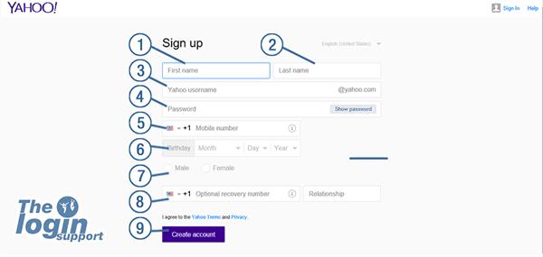 Yahoo Register