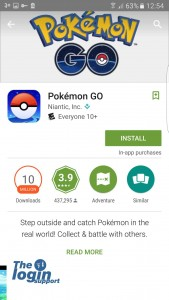 Install Pokemon Go in Android