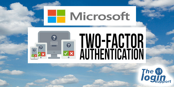 Microsoft Account 2 step verification
