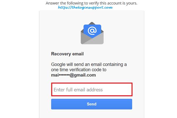 Gmail Password Recovery | Reset Gmail Password