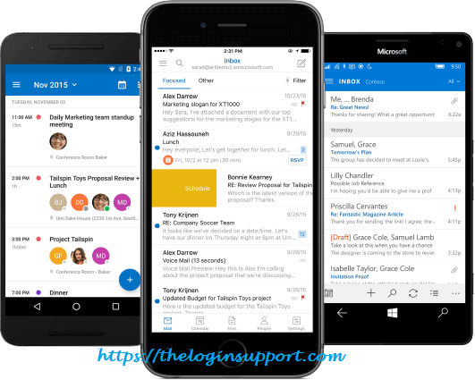 Outlook Mobile App