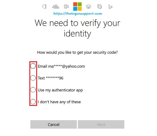 Forgot Hotmail Password