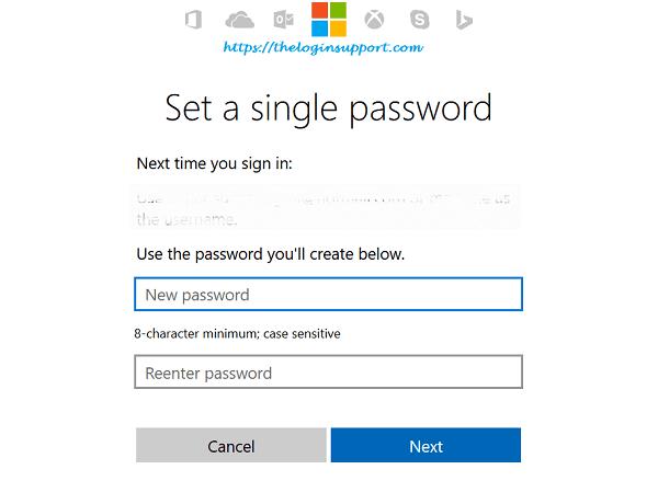 microsoft account xbox password reset