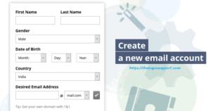 Mail.com Sign Up – New Mail.com Account