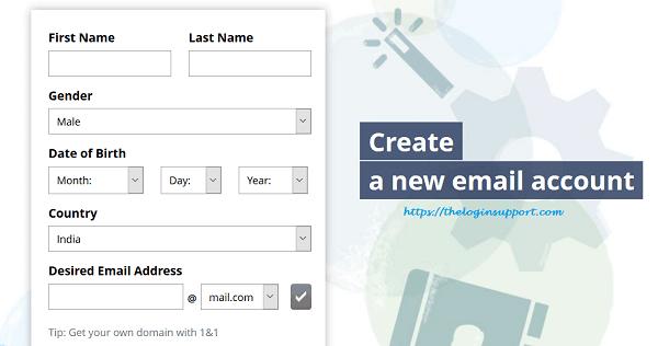 Mail.com Sign Up – New Mail.com Account