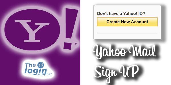 Yahoo Sign Up
