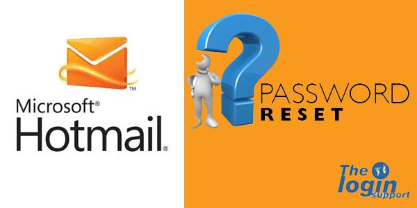 Hotmail Password Reset