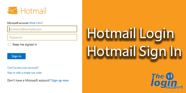 Hotmail Login Hotmail Sign In