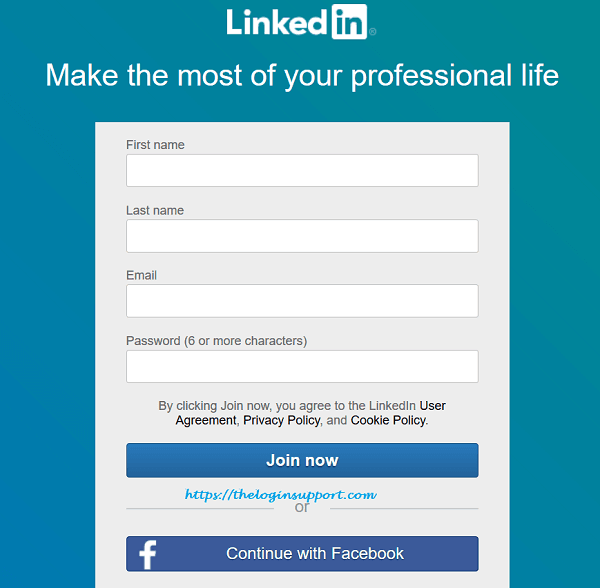 LinkedIn Sign Up: Create LinkedIn Profile: Join LinkedIn