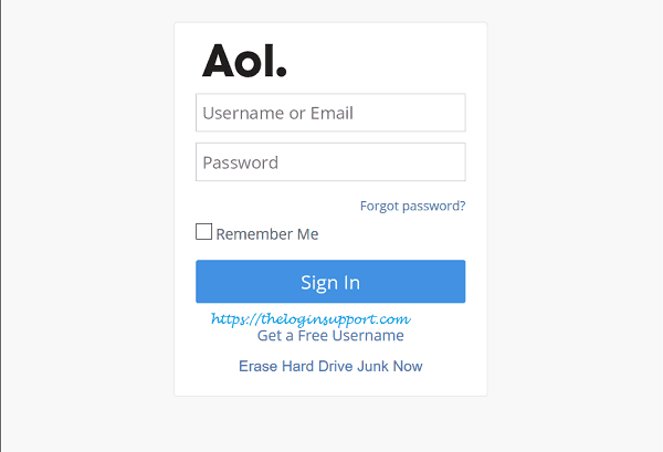 AOL Mail Login Steps