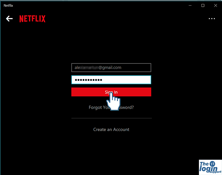 Netflix Log In