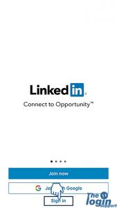 LinkedIn iOS app