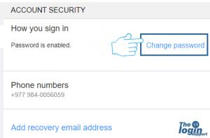 aol password change