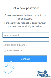 aol password change confirmation